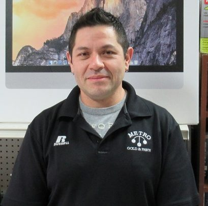 Pedro - assistant manager of pawn shop in Northern VA