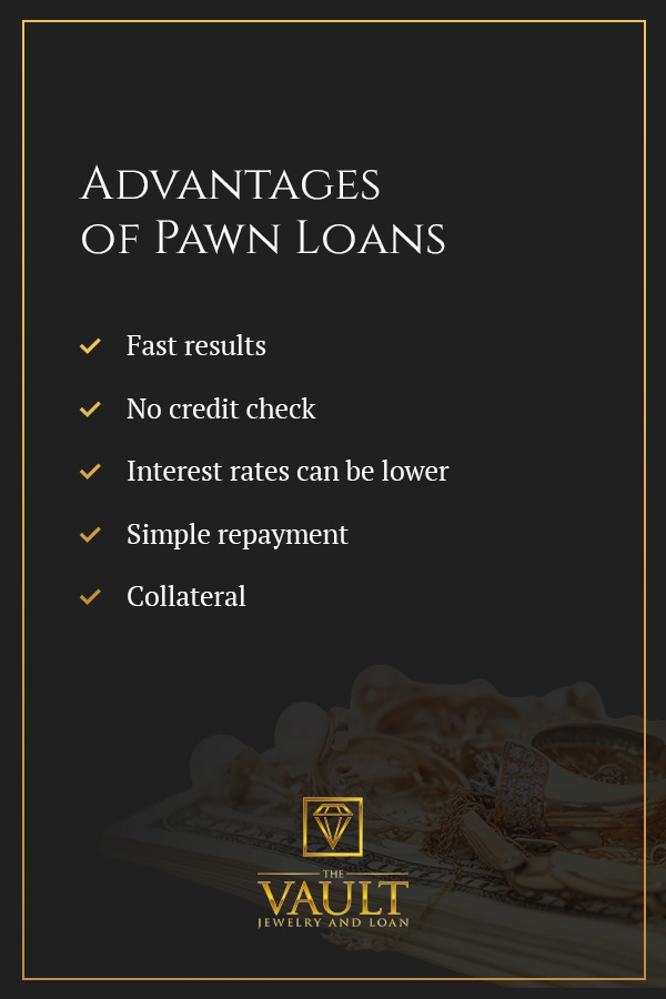 Advantages of Pawn Loans