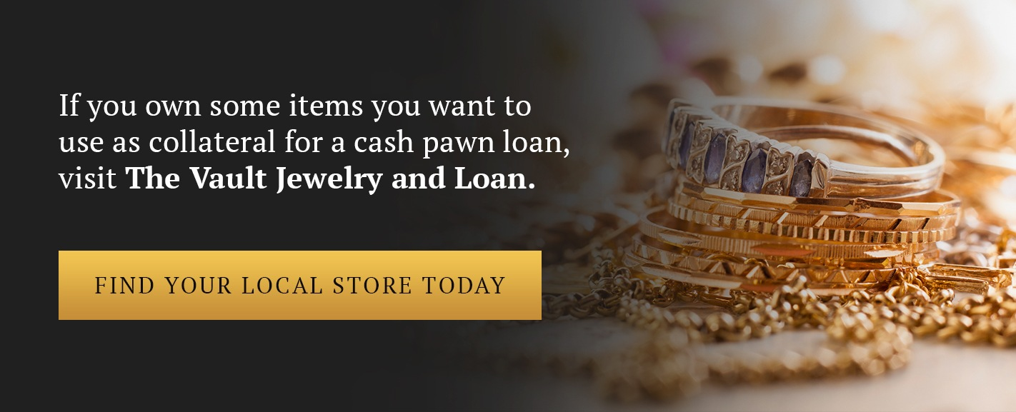 Contact The Vault Jewelry And Loan