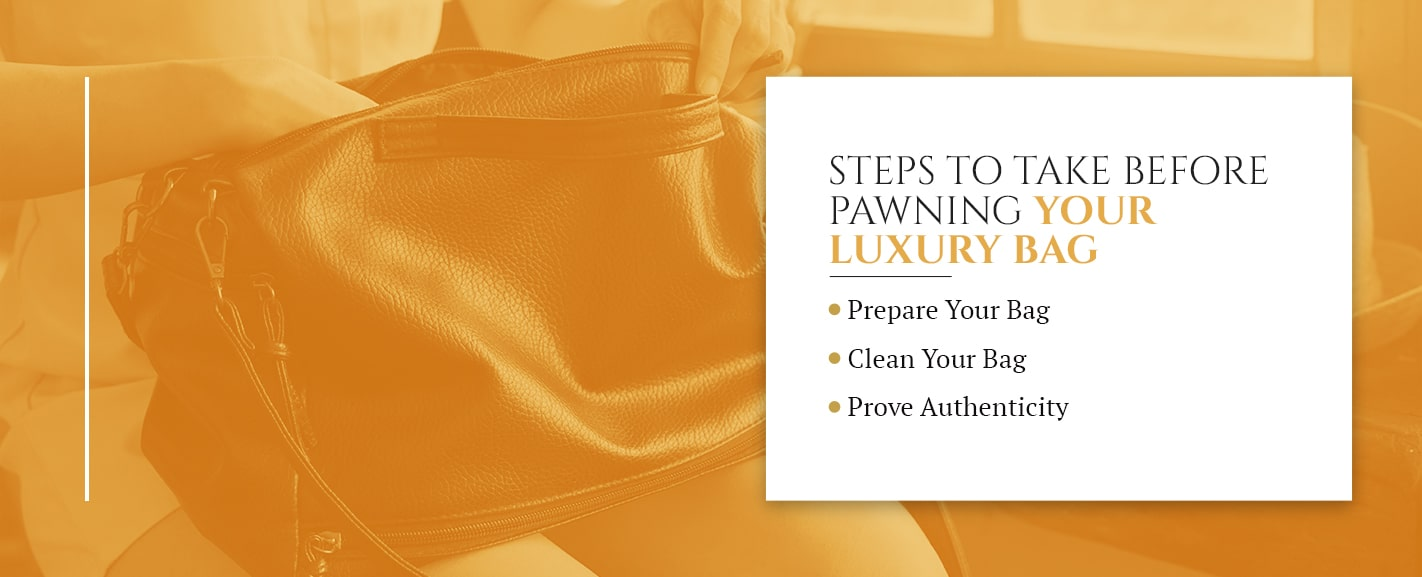 Steps to Take Before Pawning Your Luxury Bag