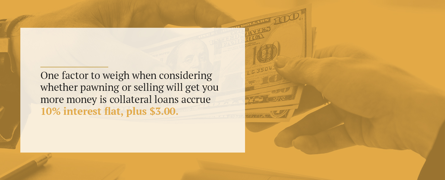 Do You Get More Money if You Pawn or Sell?